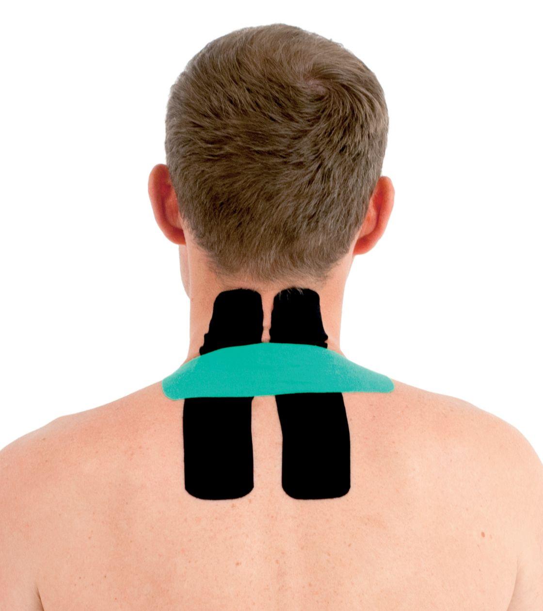 Tejpování krku a ramen 2