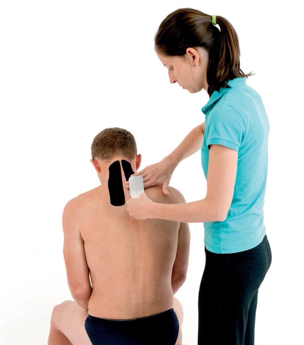 Tejpování krku a ramen 4