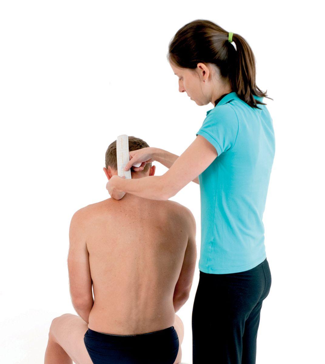 Tejpování krku a ramen 3