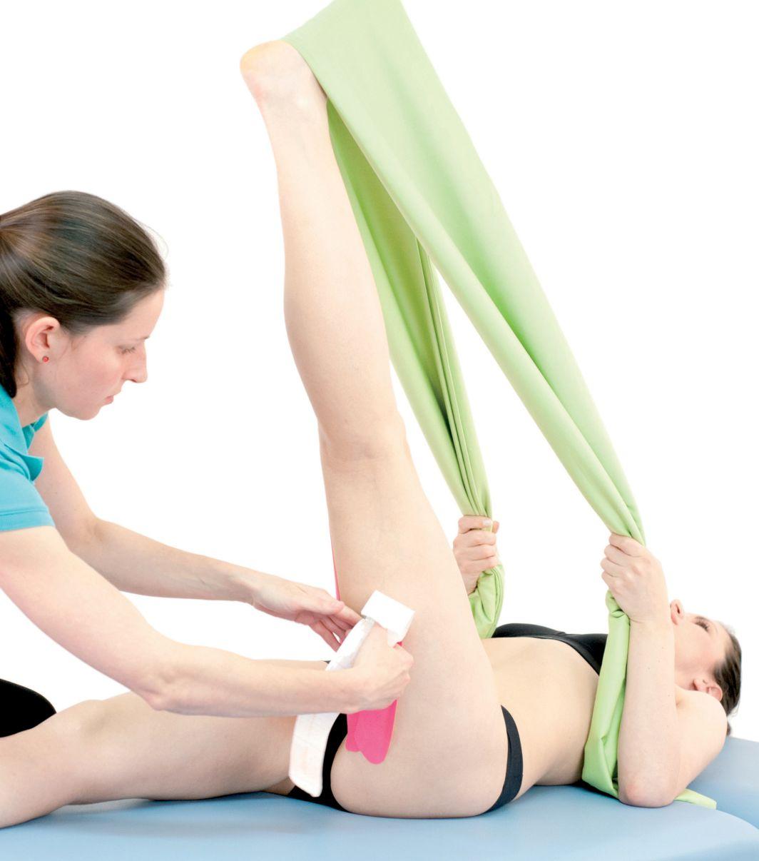 Tejpování pánevních a bederních svalů 4