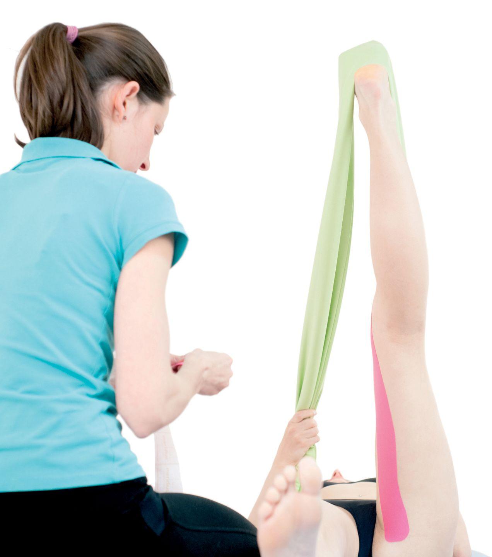 Tejpování pánevních a bederních svalů 3