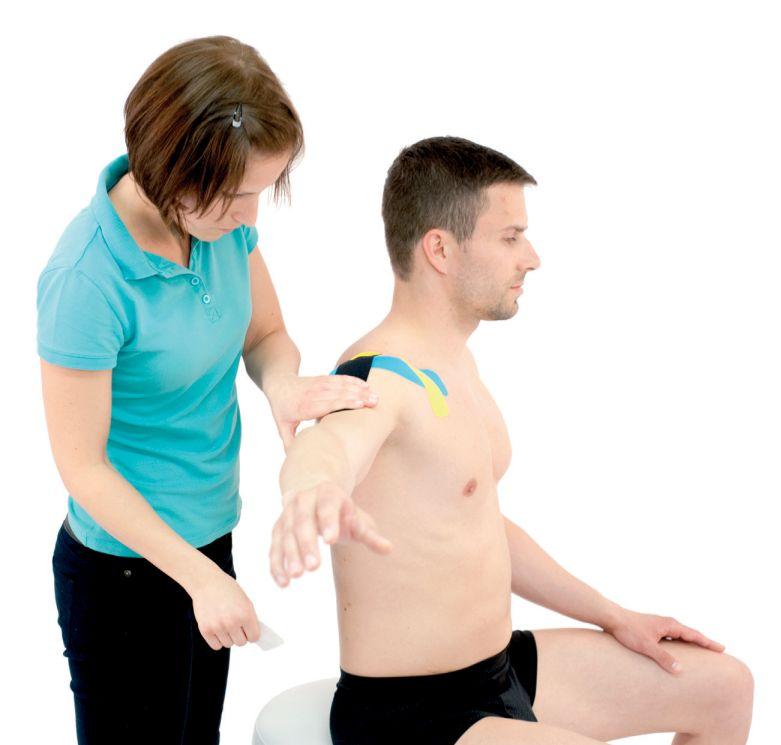 Tejpování ramene – ramenního kloubu 2