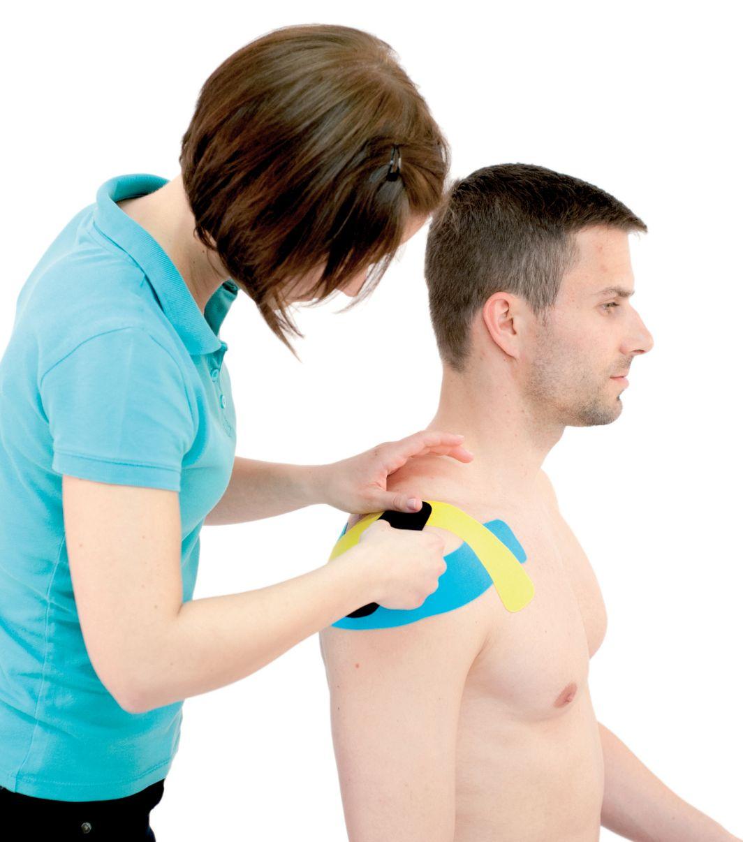 Tejpování ramene – ramenního kloubu 1