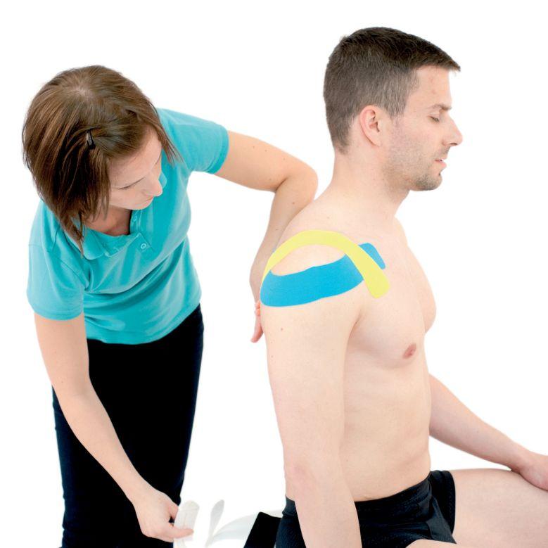 Tejpování ramene – ramenního kloubu