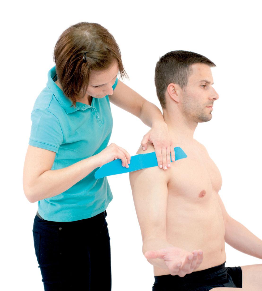 Tejpování ramene – ramenního kloubu 5