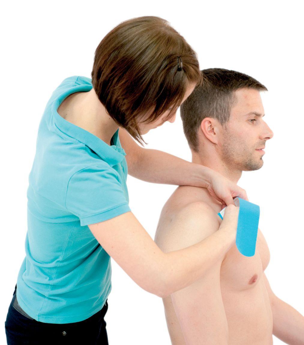 Tejpování ramene – ramenního kloubu 4