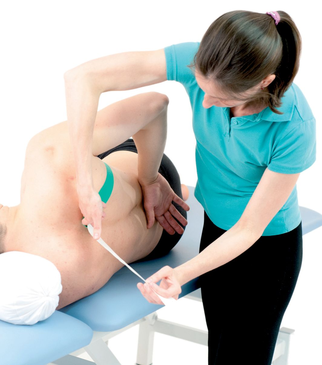 Tejpování pilovitého svalu 1