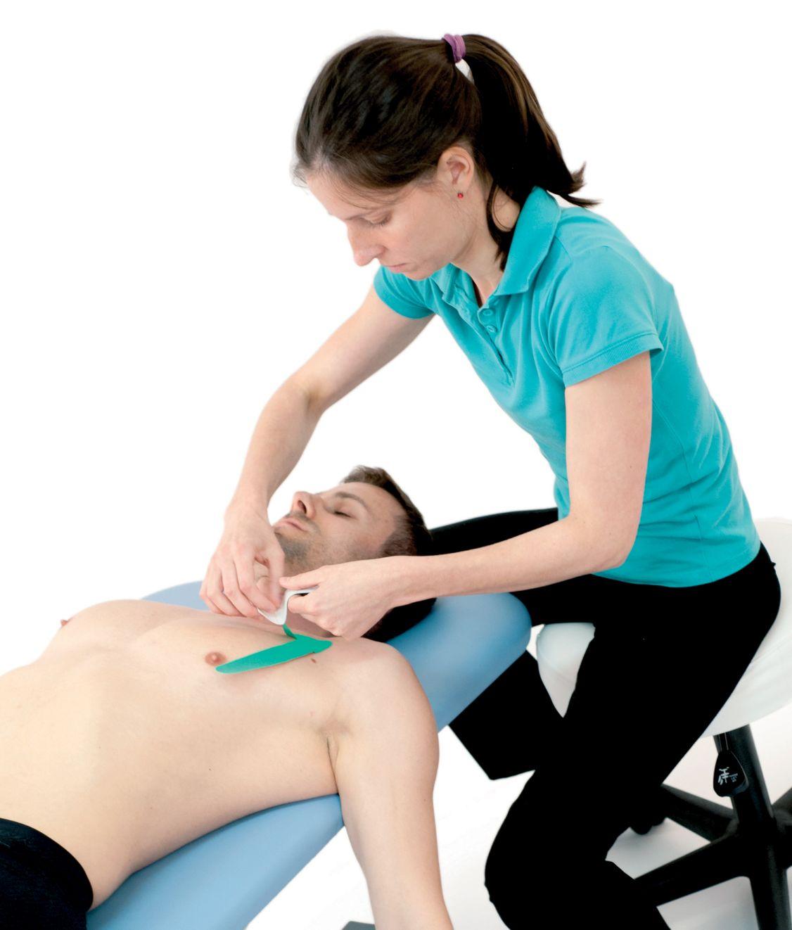 Tejpování krku – kývače 3