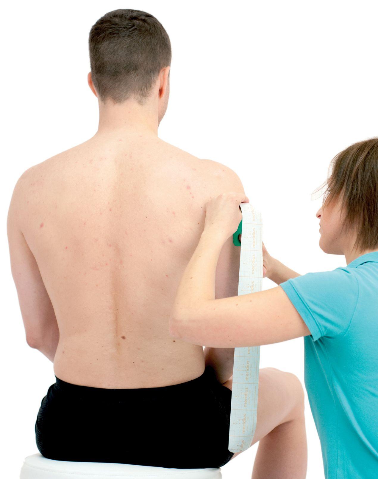 1>Tejpování širokého svalu zádového