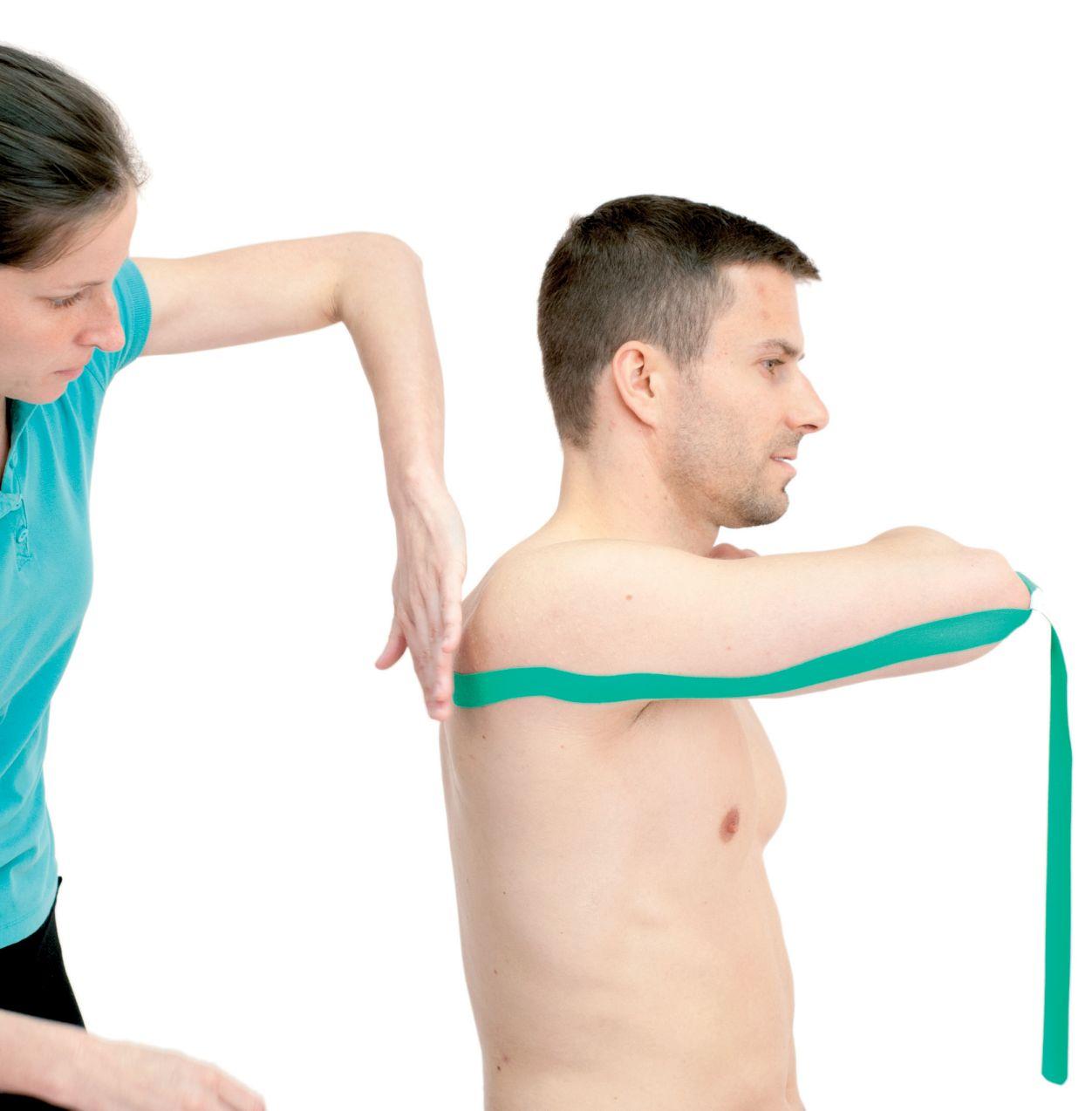 Tejpování ruky – trojhlavého svalu