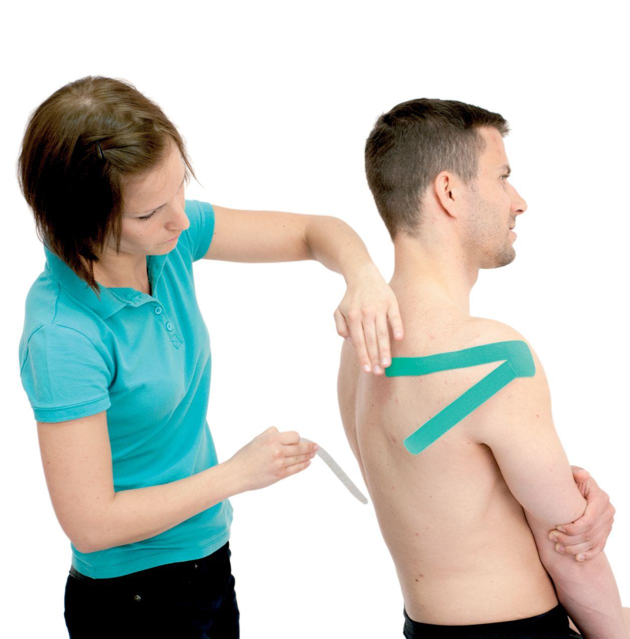 Tejpování ramene – podhřebenového svalu 2